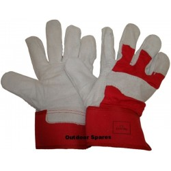 High Quality Canadian Rigger Gloves Leather Palm Fingers and Knuckle Strip