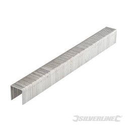 Silverline 12mm Type 140 Staples 5000 Pack For Arrow T50, Tacwise & Stanley, Part No. - 282508