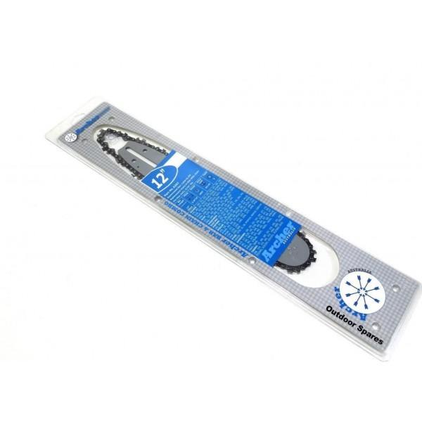 """Homelite 20AV 12"""" Bar & Chain Combo Fits 23AV 3300 35500 3800 4500"""