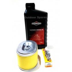 Quality Honda GX140 Small Engine Service Kit SAE30 Oil NGK Plug Air Filter