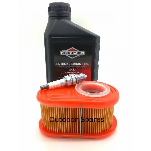 Sanli LBP46 Air Filter, Spark Plug & Engine Oil Fits LBP513 With DOV750 Engine