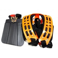 Pro Heavy Duty Brushcutter Harness, Padded Shoulder Straps and Quick Release