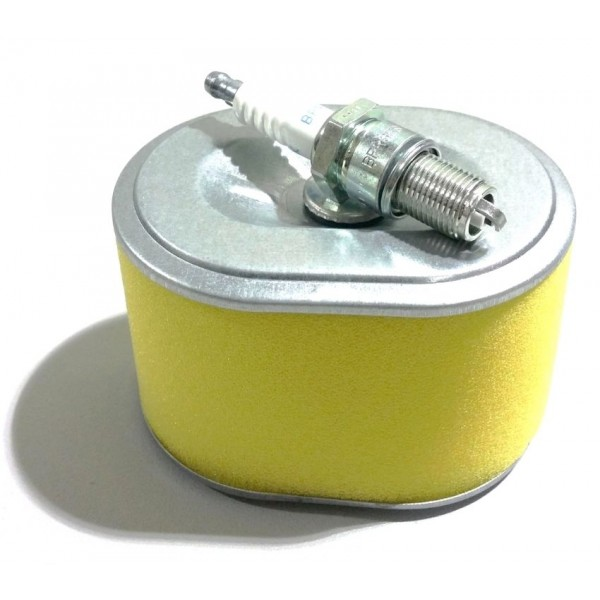 Honda GX160 Air Filter & Spark Plug Fits GX140 GX200 Quality Replacement