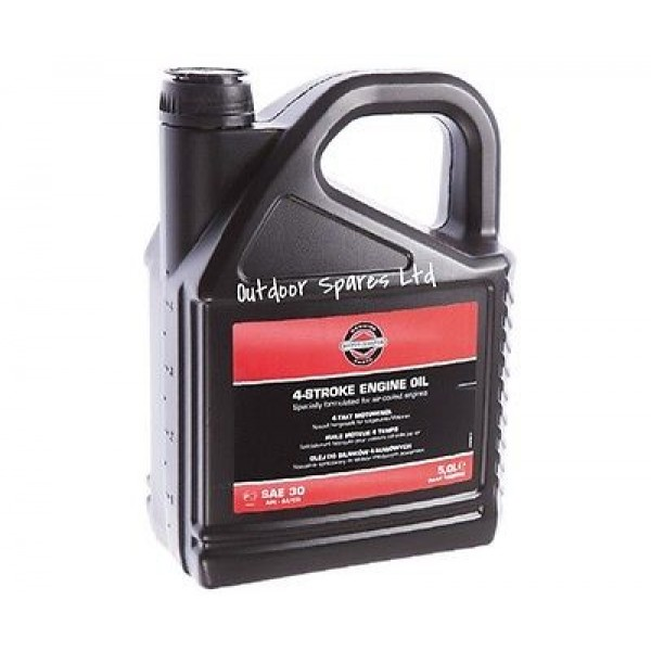 Briggs & Stratton Engine Oil SAE30 5 Litre Bottle