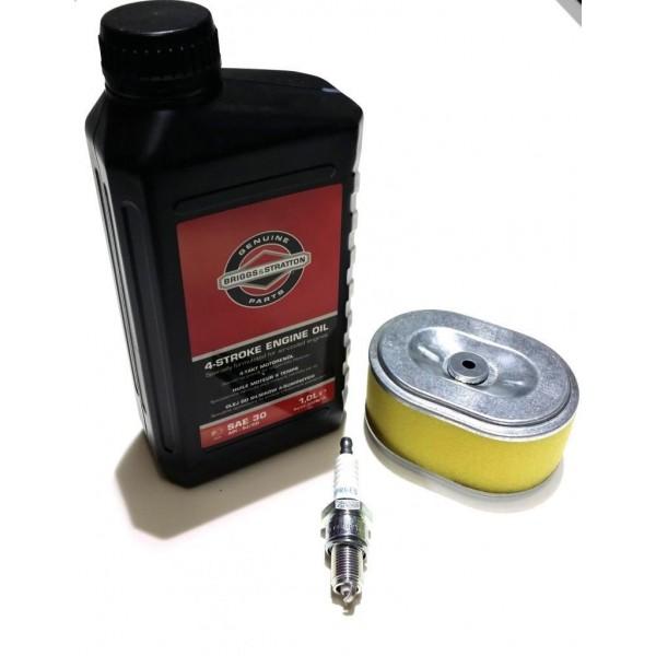 Honda GX110 Air Filter, Spark Plug & Engine Oil Fits GX120 Engine