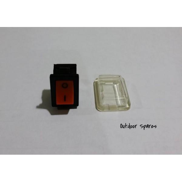 Stihl BG55 Stop Switch & Weather Cover Fits BG45 BG46 BG65 Genuine Part