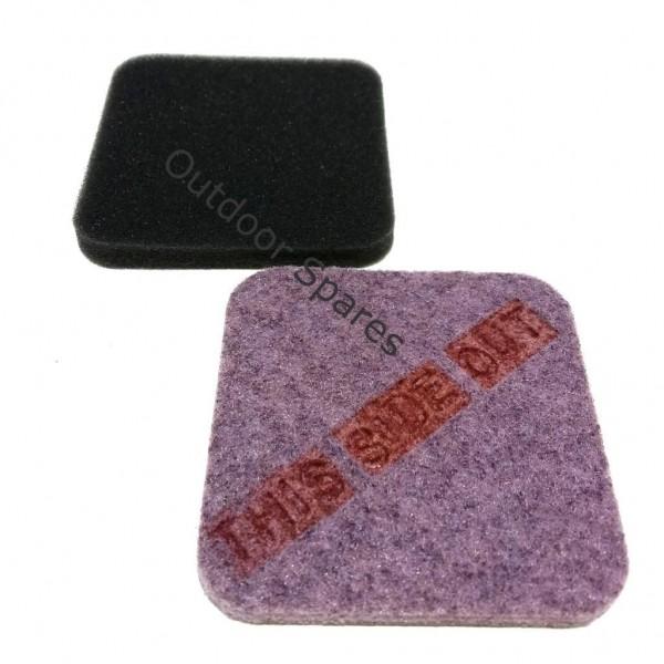 Stihl FS75 Air Filter Set Fits FS80 FS85 FS85R Quality Replacement Part