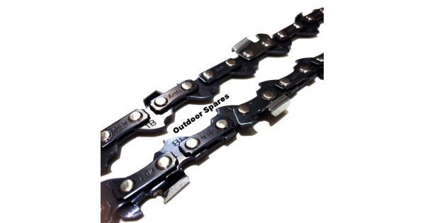 aeg ks35 chainsaw chain fits kes35 52 drive link  050 u0026quot    1
