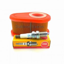 Sanli LBP513 Air Filter And NGK Plug Service Kit Fits LBP46