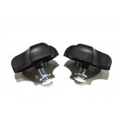 Lawnmower Wing Nut & Handle Bolt Set (2) Suitable For Most Lawnmowers