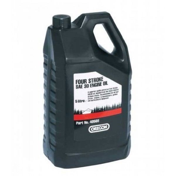 Engine Oil Superior Quality SAE30 5 Litre Bottle Oregon Branded 40568