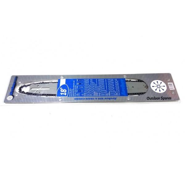 "Echo E155 18"" Bar & Chain Combo Fits 280 285 290 300 301"