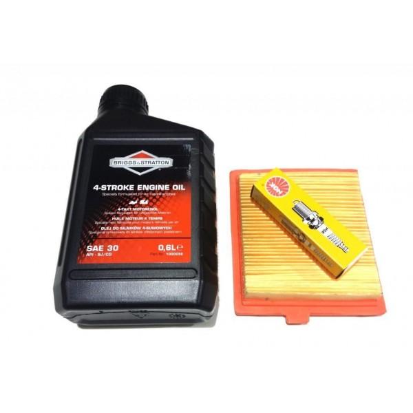 Mountfield V35 Air Filter, Spark Plug & Engine Oil Service Kit