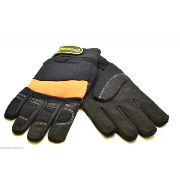 Full Gel Anti Vibration Safety Gloves 4mm Thick for Brushcutters, Strimmers Etc