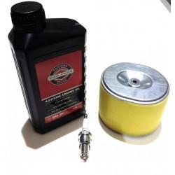 Honda GX390 Air Filter, Spark Plug & Engine Oil Fits GX340 Engine