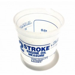 2 Stroke Mixing Beaker Measured For Mixing Ratios: 50:1 & 25:1