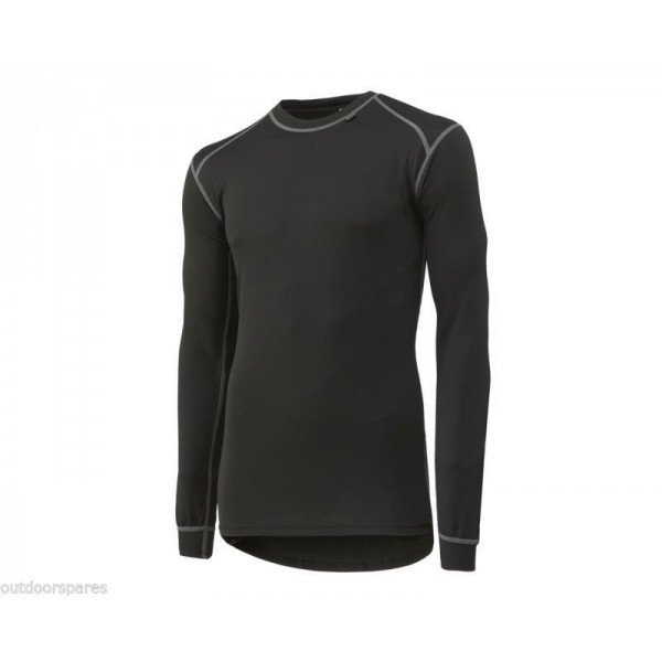 Helly Hansen Kastrup Base Layer Crewneck with Lifa ®Stay Dry Technology in Black