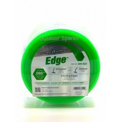 """Silver Streak """"Edge"""" 2.4mm Quality Hex Nylon Line 275ft In Standout Green Colour"""