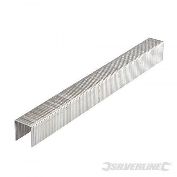 Silverline 10mm Type 140 Staples 5000 Pack For Arrow T50, Tacwise & Stanley, Part No. - 675181