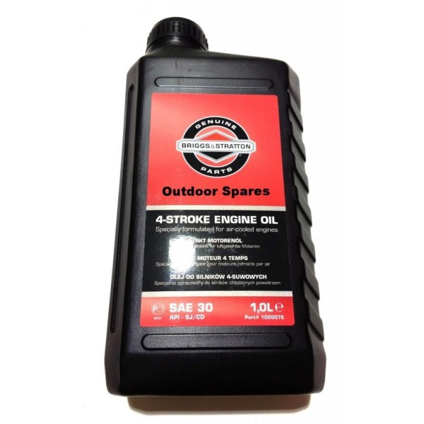 Briggs & Stratton Engine Oil SAE30 1 Litre