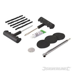Silverline Off Road Tyre Repair Kit, Quads, Lawnmower, Mobility Scooters etc, Part No. - 380421