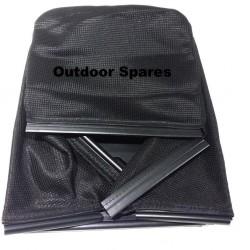 MacAllister MPRM46HP Grassbag Lower Fits MPRM46SP 181002105/2 Genuine Replacement Part