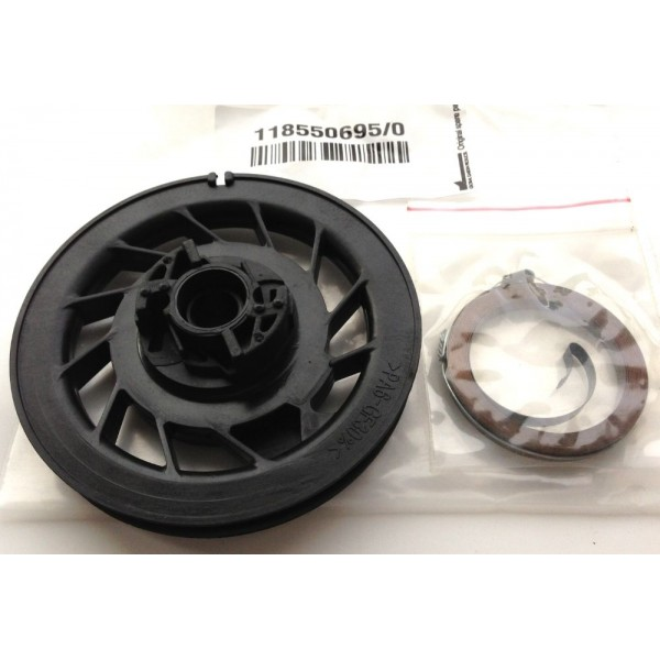 Mountfield RS100 Recoil Pulley & Spring Fits SP164 SP180R 118550695/0 Genuine Replacement