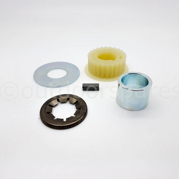 Belle Minimix 150 Engine Pulley Kit Fits M54 900/31000 Genuine Replacement