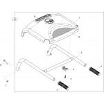 Belle Minimix 150 Handle Bolt & Nut Fits M16 M54 M12 9/8021 8/8001 Genuine Replacement