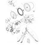Belle Minimix 140 Drum Clip Fits Minimix 60 Minimix 80 BWE-40 3/1009 Genuine Replacement
