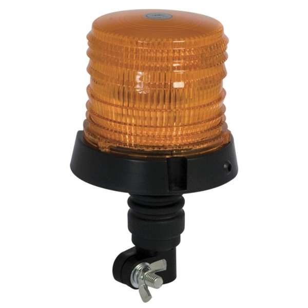 Amber Beacon Flexi Bolt On Plant / Tractor Warning Light
