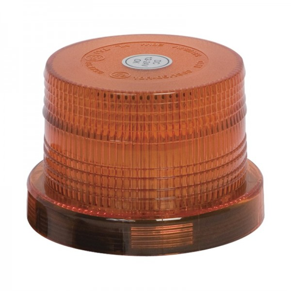 Amber Beacon Low Profile Magnetic 12/24v 32 LED Replacement Lens