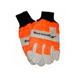 Chainsaw Saftey Gloves Left Hand Protection Class 0 16m/s In Large