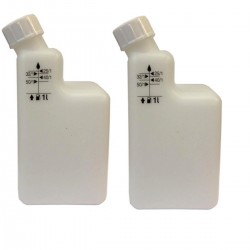 2 Stroke Mixing Bottle Pre Mix 40/1 25/1 32/1 50/1 Pack Of 2