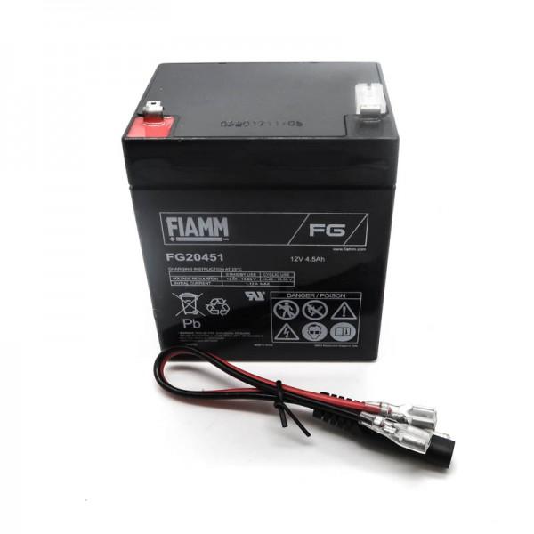 Mountfield SP460ES Battery c/w Cables M3863 Genuine Replacement Part