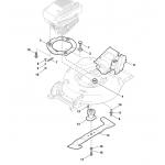 Castelgarden XA 50 BS Hex Head Screw Fits XS 50 BS 112736815/0 Genuine Replacement