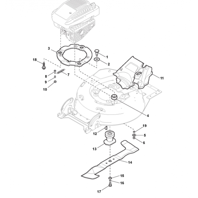 Castelgarden Xa 50 Bs Hex Head Screw Fits Xs 50 Bs 1127368150