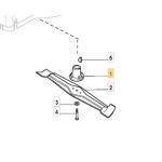 Castelgarden XA 47 MB Blade Boss Fits XAE 47 G 122465618/0 Genuine Part