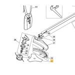 Castelgarden XB26 Brushcutter Blade Fits XB 26 D 123155010/0 Genuine Part