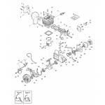 Castelgarden XC 4000 Piston Fits XC 240 118800269/0 Genuine Replacement Part