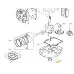 Castelgarden RV150 Oil Seal Fits CG 414 118550131/0 Genuine Replacement Part
