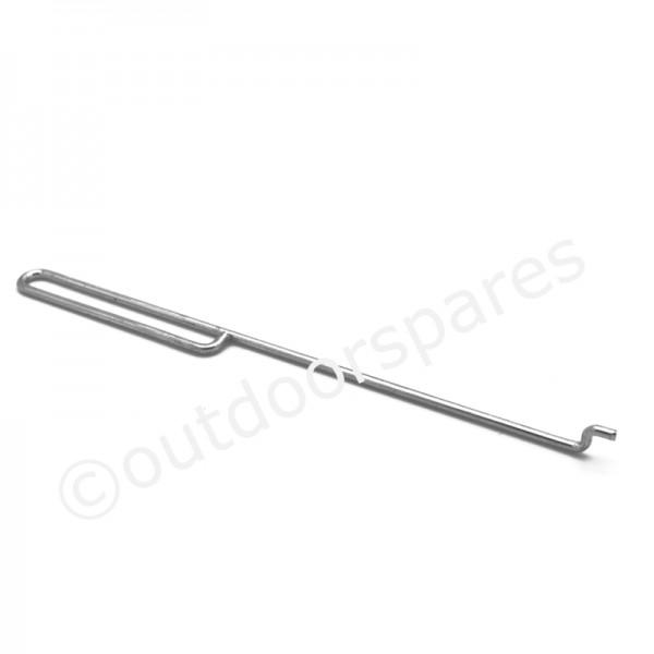 Castelgarden RM45 Choke Control Rod Fits XP 50 GS 118550264/0 Genuine Part