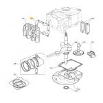Castelgarden RV150 Cylinder Head Gasket Fits CG 342 G 118550359/0 Genuine Part