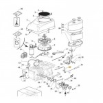 Castelgarden TRE0701 Choke Lever Fits XDC 150 118551267/0 Genuine Replacement