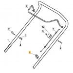 Castelgarden CS 430 Cable Clip Fits XS 53 H 118390020/0 Genuine Replacement Part