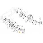 Castelgarden EU 414 Wheel Bolt Fits EU 464 XS 48 GS 122524341/0 Genuine