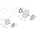Castelgarden XC 53 BS Rear Wheel Drive Gear 322120115/0 Genuine Replacement Part