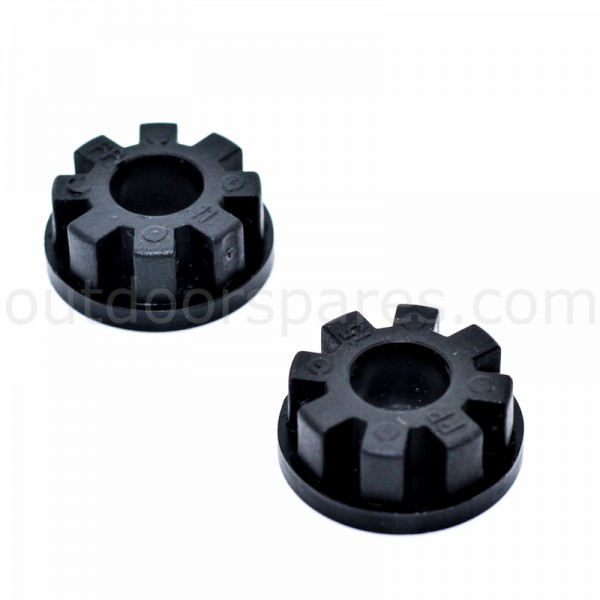 Mountfield 420 HP Wheel Bush Set Of 2 322034509/0 Genuine Replacement Part