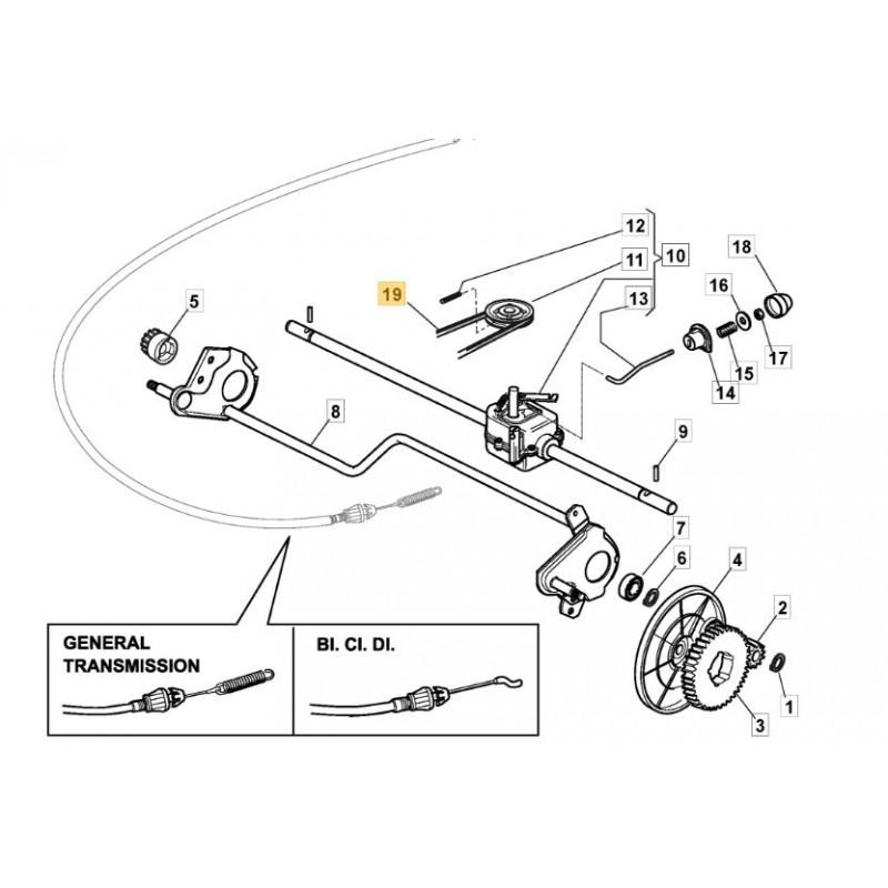Castelgarden Xa 53 Hs Drive Belt Fits Tda 534 Trb 1350641950