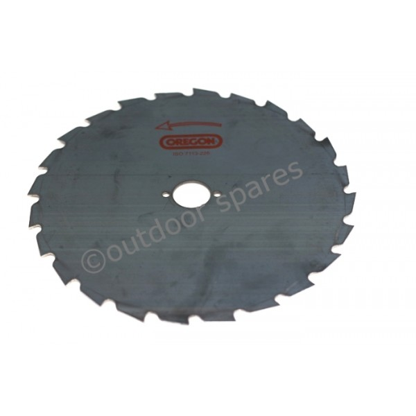 Brushcutter Clearing Blade 20mm Centre for 45cc Plus Brushcutters Oregon 200mm 110972